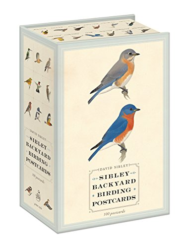 Sibley Backyard Birding Postcards: 100 Postcards por David Sibley