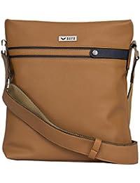 Bern Camel Brown Color Unisex Messenger Bag