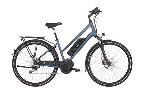 "FISCHER Damen - E-Bike Trekking ETD 1820 (2019), saphirblau matt, 28\"", RH 44 cm, Mittelmotor 50 Nm, 48V Akku"