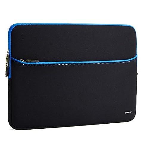 Evecase 17.3-Inch Ultra-slim Neoprene Padded Sleeve Case Bag w/ Accessory