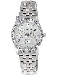 Giordano Analog White Dial Women's Watch - 60068-11