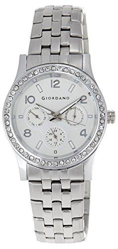 Giordano 60068-11 Analog White Dial Women's Watch image