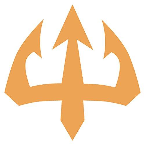 trident-emblem-emoji-metall-schild