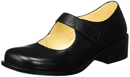 John W. Shoes Sofia, Mary Jane femme Schwarz (Negro)