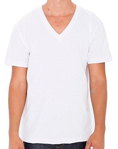 American Apparel Herren T-Shirt Weiß