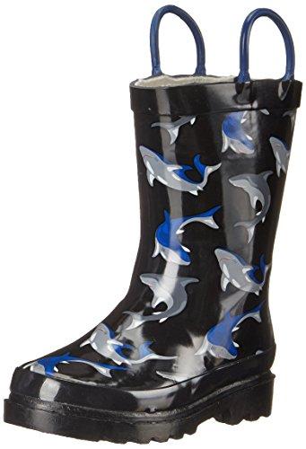 Western Chief Shark City Rain Boot (Toddler/Little Kid/Big Kid)