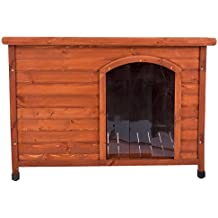 Caseta para perros de madera 104x66x70cm