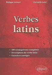 Verbes Latins 100 Conjugaisons Completes Description du Verbe Latin Exercices Corriges