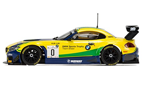 Scalextric Circuit Routier C3721 BMW Z4 GT3 - Blancpain Série Brands Hatch 5 118,1 cm de Voiture