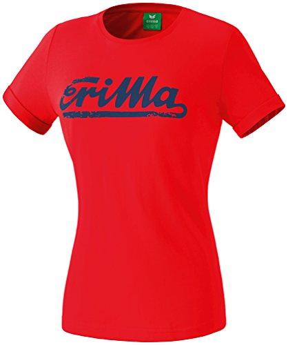 Erima Pantalon de rétro T-shirt Rouge - Rouge/bleu marine