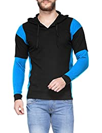 V3Squared Men's Cotton Full Sleeve Hooded T-Shirt