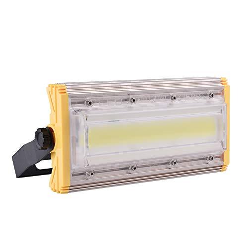 50W LED Flutlichter Scheinwerfer Außenstrahler Superhell Wandstrahler IP65 Wasserdicht,80LM/W, Kaltweiß 6500K Spotbeleuchtung für Garage, Garten, Rasen und Fußballfeld von Ankishi