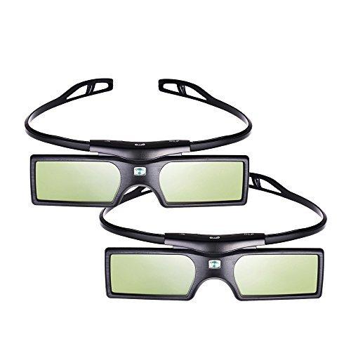 Nec-mitsubishi Lcd (2pcs Pergear 144Hz DLP-Link Active Shutter 3D Brille fürr Optoma/BenQ/Acer/ LG Projector 3D Beamer und Projektor)