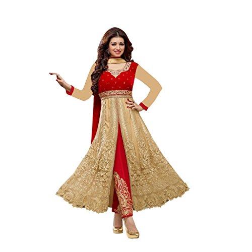 Aryan Fashion Indian Anarkali Dresses Suits Stitched for Girls - Long Anarkali Dresses Kurtis for Women for Wedding