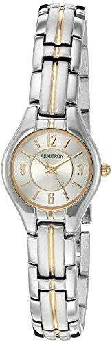 Armitron Women's 75/5324SVTT Two-Tone Bracelet Watch