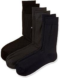 Hush puppies Men's Calf Socks (Pack of 3)