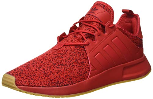 adidas Herren X_PLR B37439 Sneaker, Rot Escarl/Gum3 000, 43 1/3 EU