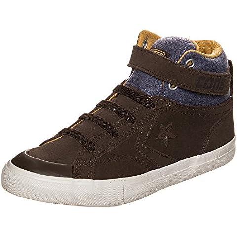 Converse Cons Pro Blaze Strap - Zapatillas de Piel para hombre, color marrón, talla 13