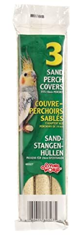Living World Sand Perch Covers for Cockatiels - 3