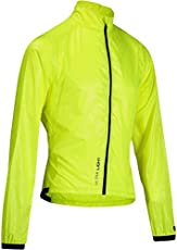 Btwin 700 Ultralight Windproof Cycling Jacket - Yellow