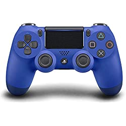 Sony Manette PlayStation 4 Officielle, DUALSHOCK 4, Sans Fil, Batterie Rechargeable, Bluetooth, Bleue