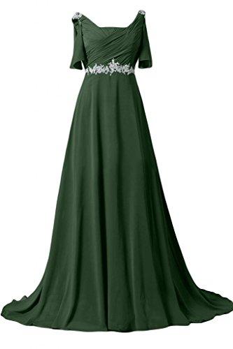 Sunvary -  Vestito  - Donna Verde scuro