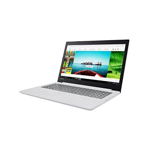 "Lenovo Ideapad 320-15ISK - Portátil de 15.6"" HD (Intel Core I3-7100U, RAM de 4 GB, disco duro SSD de 128 GB, Intel HD Graphics 520, Windows 10 Home 64 bit), blanco - Teclado QWERTY Español"