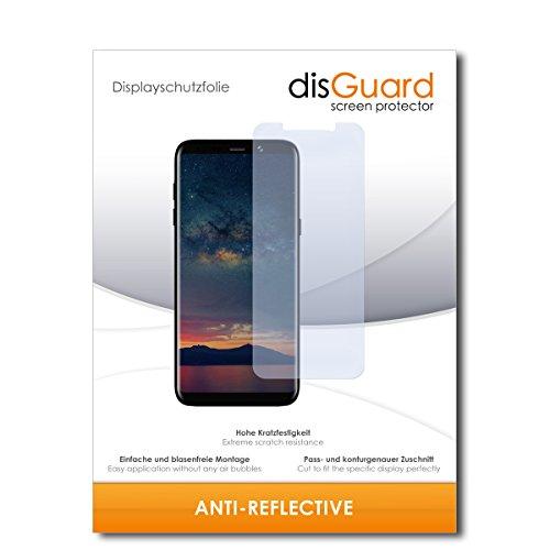 disGuard® Bildschirmschutzfolie [Anti-Reflex] kompatibel mit Bluboo S8+ [2 Stück] Entspiegelnd, Matt, Antireflektierend, Extrem Kratzfest, Anti-Fingerabdruck - Panzerglas Folie, Schutzfolie