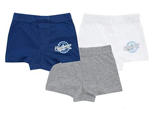 Jacky Jungen Slip 5er Pack, Tropical Dreams, Hellblau/Marine, 98/104, 710051