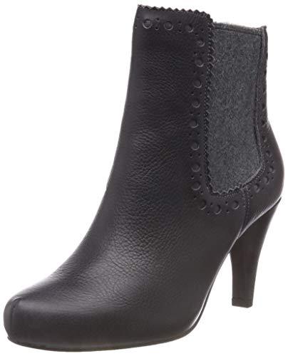Clarks Dalia Bella, Zapatos Tacón Mujer, Gris Dark