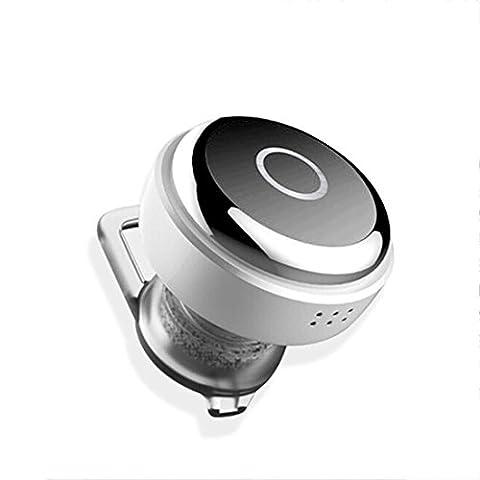 Joyeer Mini Kopfhörer Wireless Bluethooth Earphon Voice Control Earbud Universal In-Ear Sport Stereo Rauschunterdrückung Headset mit Mic für Smartphones / Ipad ,
