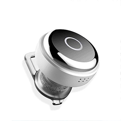 Joyeer Mini Kopfhörer Wireless Bluethooth Earphon Voice Control Earbud Universal In-Ear Sport Stereo Rauschunterdrückung Headset mit Mic für Smartphones / Ipad , black Motorola-handys Boost Mobile