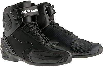 Alpinestars SP-1de la calle de moto para hombres zapatos–negro