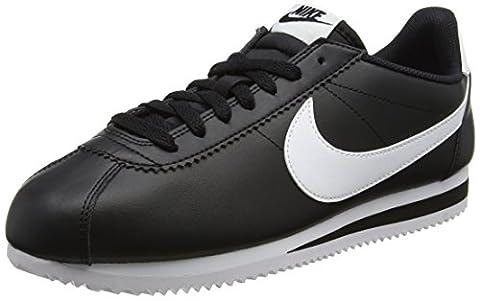 Basket Femme Nike 41 - Nike Classic Cortez Leather, Baskets Femme, Noir