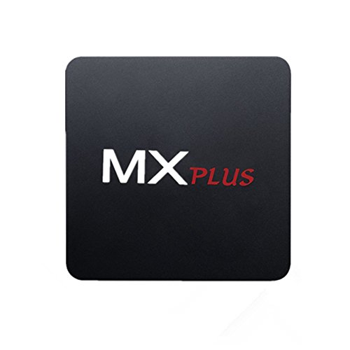 Patuoxun TV Box, Android 5.1, Amlogic S905 quad-core 64 bit ARM Cortex A53 CPU, 1G DDR3 + 8G eMMC flash, supporto UHD 2K x 4K, Bluetooth 4.0, H.265, HDMI 2.0, supporto WiFi Miracast / DLNA e Gigabit Network & OTA , pre-scaricare Vidon XBMC / YouTube / Netflix / Skype per Home Entertainment.