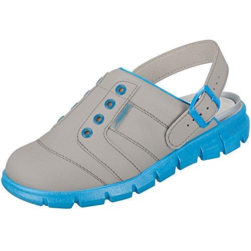 Abeba 7362-48 Dynamic Chaussures sabot Taille 48 Gris/Bleu