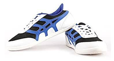 Globalite Women's Casual shoes ACE-6 Black-Royal Blue GSC0783 UK/IN 3