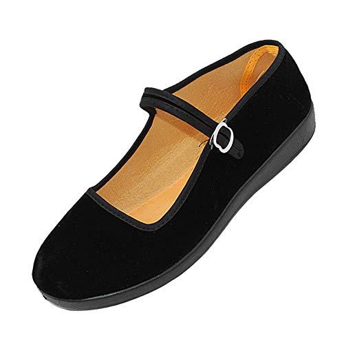 Uirend Zapatos Merceditas Mujer - Zapato Bailarinas