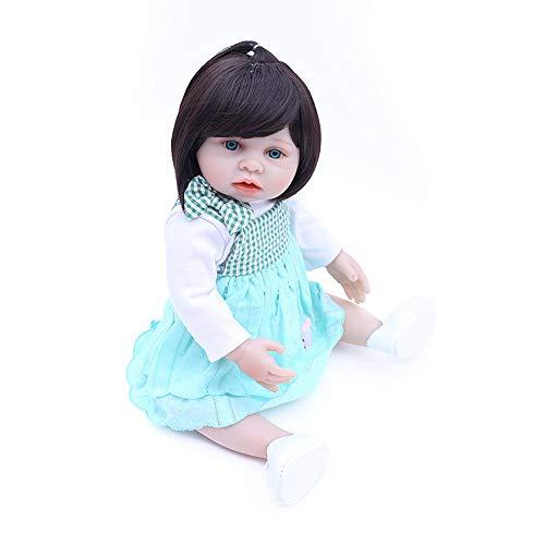 lebensechte wiedergeborene Babypuppen realistische handgemachte Babys für Kinder Kunststoff Mädchen waschbar Spielzeug Kinder Geschenk ()