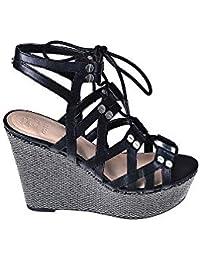 cheap for discount b8cfc 8c5e0 Amazon.it: zeppa - Guess / Sandali / Scarpe da donna: Scarpe ...