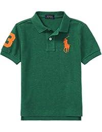 Ralph Lauren Boys Big Pony Green Heather Polo T Shirt Age 2 (Age 2) df17deb0aafd0