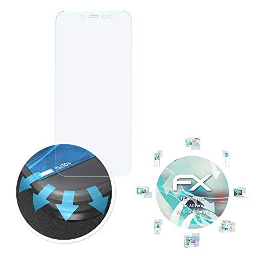 atFolix Schutzfolie passend für Allview X4 Soul Infinity L Folie, ultraklare & Flexible FX Bildschirmschutzfolie (3X)