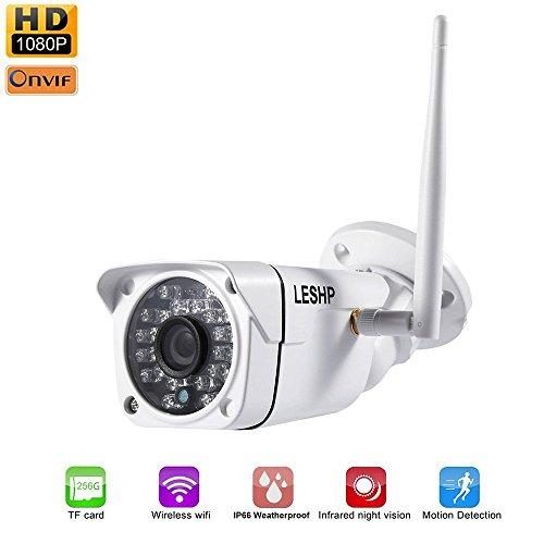 Galleria fotografica Videocamera di Sorveglianza , LESHP di Sicurezza IP Bullet Telecamera Weatherproof, Monitoraggio Video