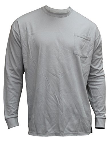 chicago-protective-apparel-610-frc-ls-g-2xl-truecomfort-knit-fr-long-sleeved-t-shirt-xx-large-grey-b