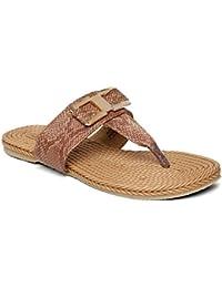 PARAGON SOLEA Plus Women's Brown Flip-Flops
