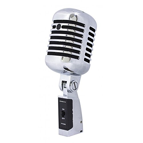 misches Mikrofon Vintage aus Metall ()