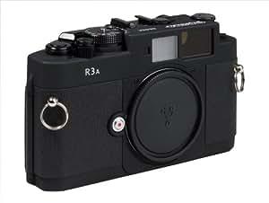 Voigtlander Bessa R3A Appareil photo Reflex Boitier nu 35 mm Viseur x 1,0 Noir