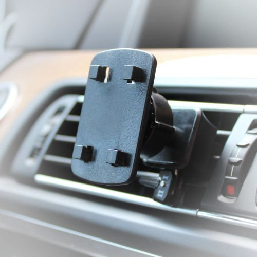 AutoScheich® Navi Lüftung Halterung Halter für Becker Falk Medion GPS 4 Krallen Loch Monitor KFZ LKW Navi-halter