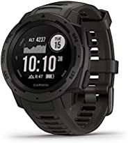 Garmin Instinct Graphite Sportwatch GPS, Grigio, Regular
