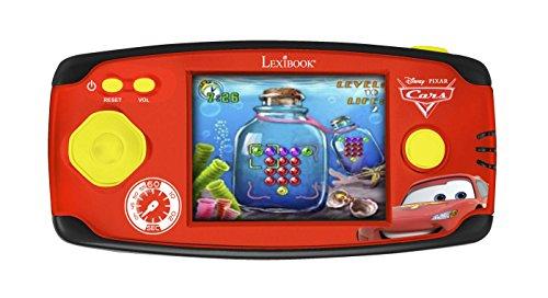 Lexibook- Disney Cars-Console Cyber Arcade, 150 Jeux, Rouge JL2360DC-2